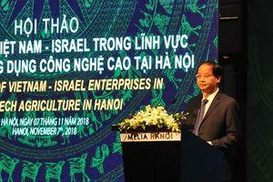 Hà Nội kết nối phát triển nông nghiệp công nghệ cao