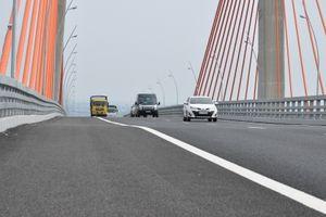 Sớm có phương án khắc phục điểm võng tại cầu Bạch Đằng