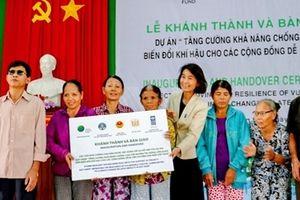 Hỗ trợ người dân Thừa Thiên - Huế xây dựng 143 căn nhà chống bão lũ