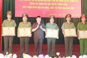 Hưng Yên tấn công hiệu quả tội phạm có tổ chức