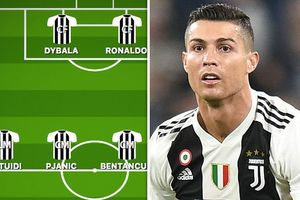 Đội hình Juventus trước MU: Ronaldo đá cặp Dybala trong sơ đồ 4-4-2?