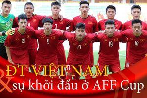 Infographic: Việt Nam làm nên điều kỳ diệu ở AFF Cup dù thua trận mở màn