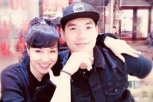 Trương Nam Thành hạnh phúc khoe vợ sắp cưới hơn tuổi