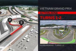 Cung đường đua xe F1 tại Mỹ Đình sẽ như thế nào?