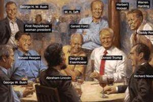 Bức tranh các Tổng thống Mỹ trong Nhà Trắng