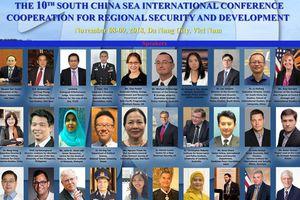 Biển Đông: Hợp tác vì an ninh và phát triển khu vực