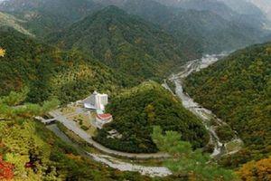 Triều Tiên xây dựng công viên nước quy mô lớn tại núi Kumgang