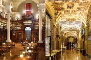 Choáng ngợp với kiến trúc nguy nga tráng lệ như cung điện Hoàng gia của ngôi trường lâu đời nhất Châu Âu