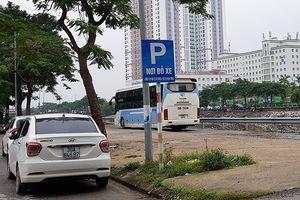 Phường Hoàng Liệt 'bó tay', bãi xe lớn không phép vô tư hoạt động