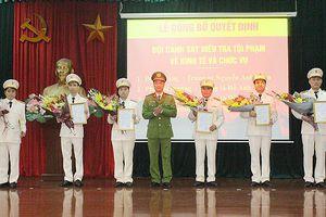Hợp nhất, thành lập mới các đội nghiệp vụ Công an quận Long Biên