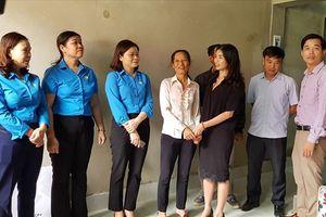 LĐLĐ TP.Tam Điệp (Ninh Bình): Khánh thành và bàn giao nhà ở cho CNLĐ có hoàn cảnh khó khăn