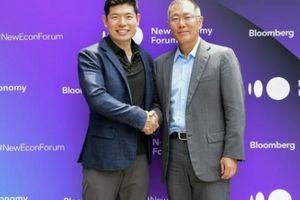 Chi 250 triệu USD vào dự án xe điện, Hyundai Motor Group 'bắt tay' với Grab