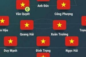Đội hình ra sân Lào vs Việt Nam: Công Phượng, Xuân Trường đá chính