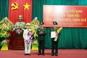 Bổ nhiệm Giám đốc Công an Thừa Thiên - Huế