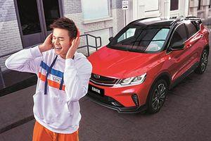Crossover giá rẻ Geely Bin Yue hiện đại và tiết kiệm hơn