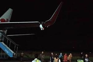 Máy bay Lion Air của Indonesia tiếp tục gặp sự cố, rách toạc cánh