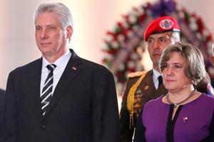 Chủ tịch Cuba và Phu nhân thăm hữu nghị Việt Nam