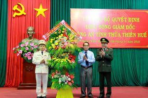Phó tư lệnh Cảnh sát cơ động làm Giám đốc Công an Thừa Thiên - Huế