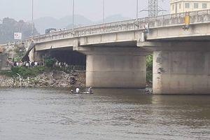 Đôi nam nữ nhảy sông Đáy tự tử sau vụ cãi vã