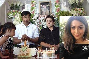 Sau tang lễ, gia đình tổ chức sinh nhật cho Á hậu Thái Lan vừa tử nạn