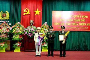 Phó Tư lệnh Cảnh sát Cơ động làm Giám đốc công an tỉnh TT-Huế