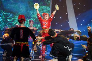 Tô Anh Thư xuất sắc giành giải nhất tuần Sao Nối Ngôi Nhí với lễ hội cầu mùa