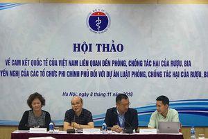 Gần 45% nam giới Việt uống rượu bia ở mức nguy hại