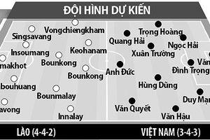 Đội hình ra sân dự kiến của 2 đội tuyển trong trận Việt Nam vs Lào tối nay