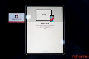 Cận cảnh iPad Pro 2018 12,9 inch tại Việt Nam: lột xác ngoạn mục cả thiết kế lẫn cấu hình