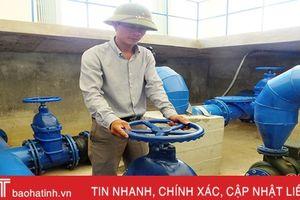 97% dân số vùng nông thôn Hà Tĩnh được cung cấp nước hợp vệ sinh