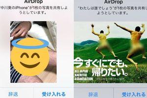 Kẻ biến thái gửi ảnh khỏa thân, vùng kín quấy rối phụ nữ qua AirDrop của iPhone