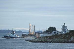 Tàu chiến Na Uy va chạm tàu chở dầu của Malta, 7 người bị thương