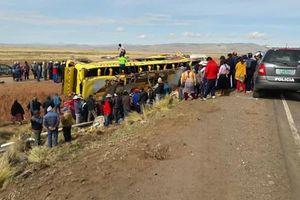 Thảm khốc hai xe buýt đâm nhau, ít nhất 47 người thiệt mạng