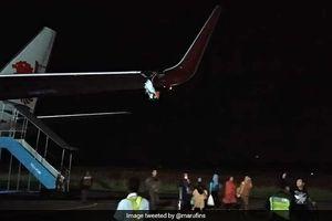 Sau máy bay rơi Lion Air lại gặp sự cố gãy cánh