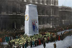 Những tấm ảnh màu chưa từng được công bố về hậu Thế Chiến thứ nhất