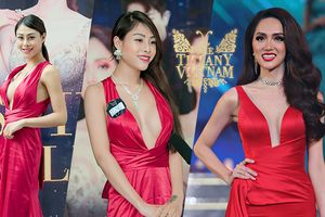 Quá thích Hương Giang, thí sinh The Tiffany Vietnam đặt may hẳn chiếc váy 'chiến thắng' tại Miss International Queen 2018