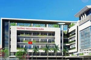 Trường THCS Thanh Xuân bắt bí phụ huynh nộp học phí chất lượng cao?