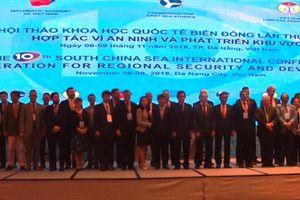 Hội thảo quốc tế Biển Đông - Hợp tác vì an ninh và phát triển khu vực
