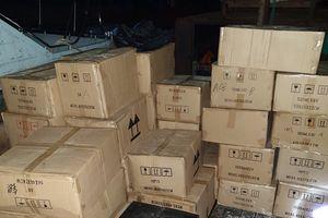 Quảng Ninh: Bắt giữ 1 lô lớn mỹ phẩm nhập lậu từ Trung Quốc