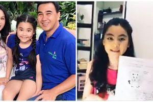 Con gái MC Quyền Linh trổ tài nói tiếng Anh, chuẩn danh xưng 'con nhà người ta'