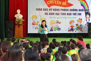Ninh Bình: Giáo dục kỹ năng phòng, chống quấy rối và xâm hại tình dục trẻ em