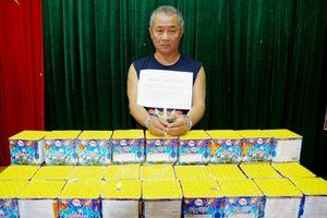 Bắt đối tượng vận chuyển pháo trái phép từ Lào về Việt Nam