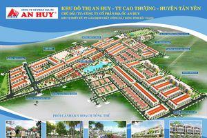 Bắc Giang: Khu đô thị An Huy - điểm nhấn đô thị huyện Tân Yên