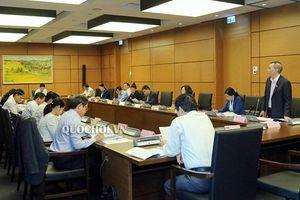Đoàn ĐBQH tỉnh tham gia thảo luận tại tổ về Luật Kiến trúc
