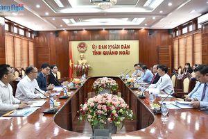 Chủ tịch UBND tỉnh tiếp Cơ quan xúc tiến Thương mại và Đầu tư Hàn Quốc tại Đà Nẵng