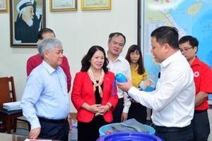 Tăng cường phối hợp giữa TƯ Hội Chữ thập đỏ Việt Nam và Ủy ban Dân tộc