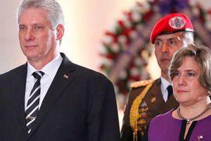 Chủ tịch Cuba và phu nhân thăm hữu nghị chính thức Việt Nam