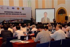 Hội thảo quốc tế về Quản lý thảm họa và rủi ro đường bộ