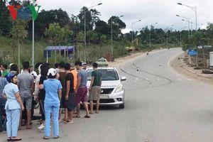 Cán bộ thành phố say xỉn chống đối cảnh sát giao thông Lào Cai