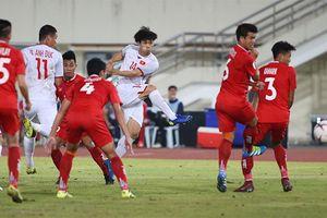 Công Phượng ghi bàn thắng đầu tiên cho Việt Nam tại AFF Cup 2018